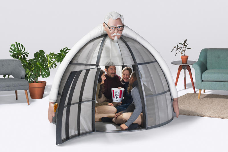 KFC Internet Escape Pod 2017 Holiday Christmas