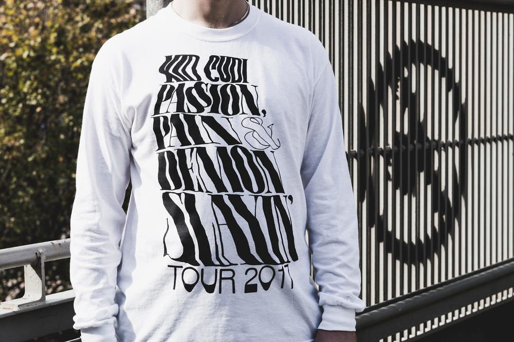 "Kid Cudi ""MR. RAGER"" Collection by Virgil Abloh PASSION PAIN & DEMON SLAYIN' TOUR Black Friday"