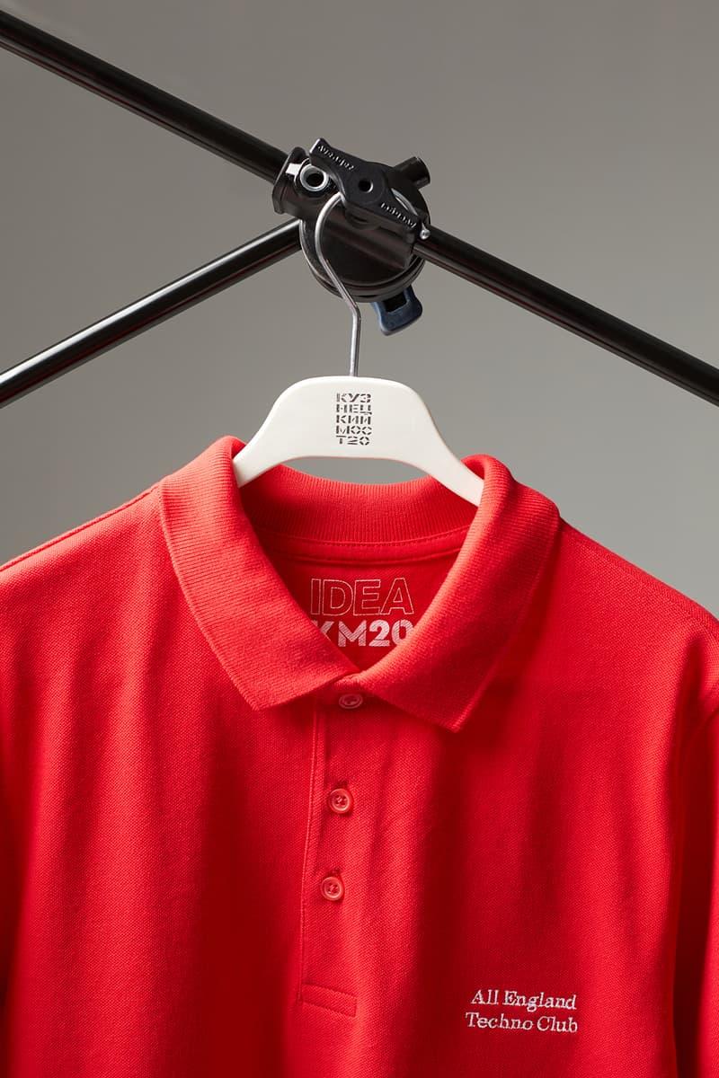 IDEA Books KM20 Moscow Russia All England Techno Club Polo Shirt Olga Karput