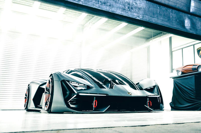 Lamborghini MIT Terzo Millennio Electric Sports Car Concept