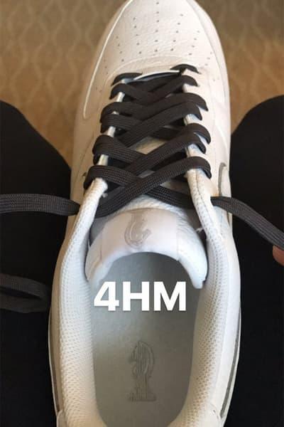 LeBron James Nike Air Force 1 Low Four Horsemen Exclusive Sneaker Basketball