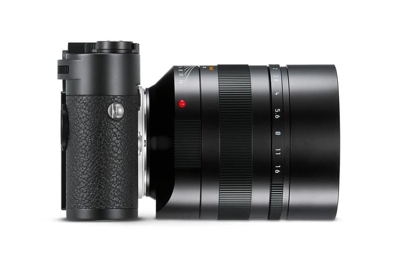 Leica Noctilux M 75 mm f 1 25 ASPH Lens Official Reveal Unveiled 2017 November 29 Price Expensive Portrait Camera $12,500 USD lenses