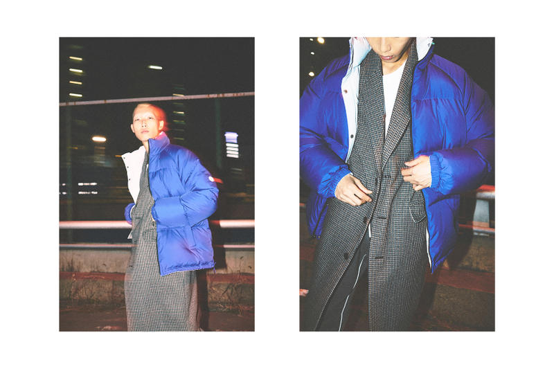 LIFUL Minimal Garments WORKSOUT Capsule Collection Collaboration 2017 Fall Winter