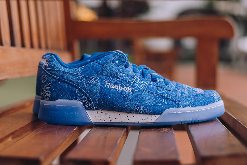 Limited EDT Reebok Workout Plus Low Peace Harmony Blue White 2017 December 2 Release Date Info Sneakers Shoes Footwear
