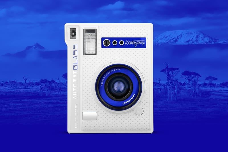 Lomography Lomo'Instant Automat Glass Kilimanjaro Edition Camera White Blue