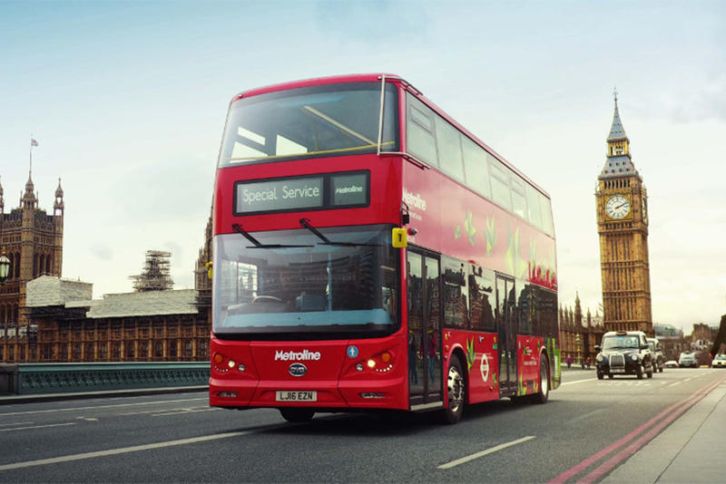 London Buses Coffee Fuel Shell Bio Bean