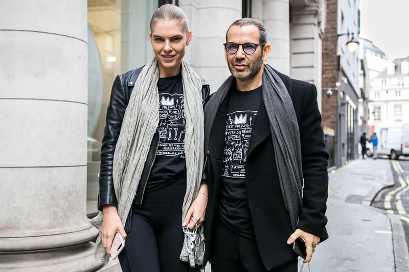London Street Style Fall/Winter 2017 Autumn/Winter Balenciaga Supreme Off-White YSL Yeezy Louis Vuitton comme des garçons