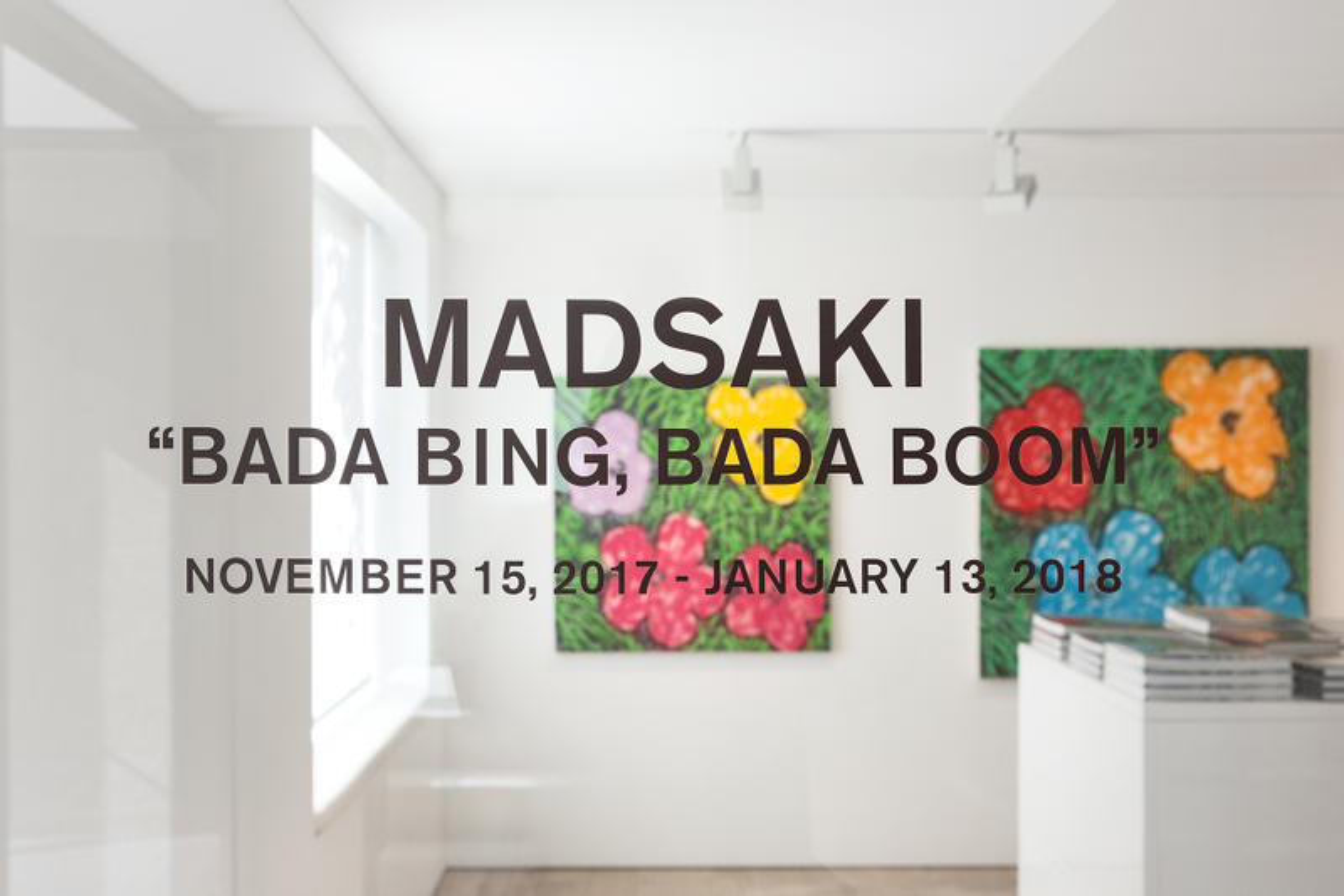 Madsaki on His Debut Solo Exhibit at Galerie Perrotin Seoul