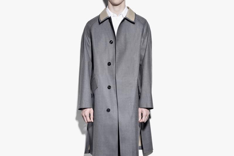 Maison Margiela Mackintosh Trench Coat Capsule Collection Collaboration