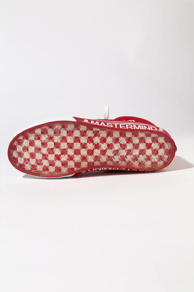 MASTERMIND JAPAN Vans Mountain Edition Sneaker Tokyo Shibuya Exlcusive Collaboration skull WORLD suede zipper