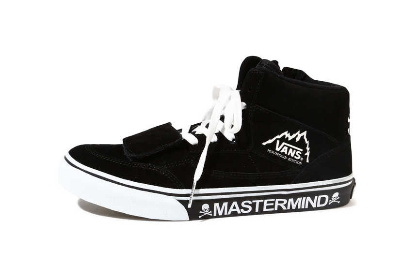 c0510a536b1837 mastermind JAPAN x Vans Mountain Edition Black
