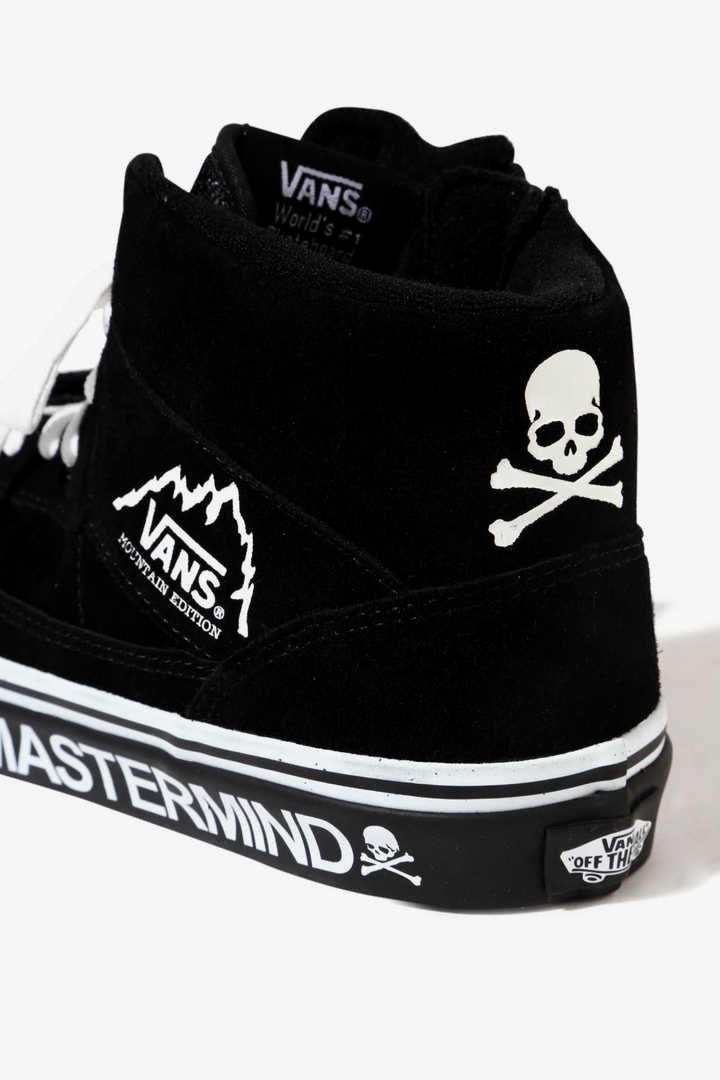 mastermind JAPAN Vans Mountain Edition Black 2017 November Release Date Info Sneakers Shoes Footwear Drop Suede