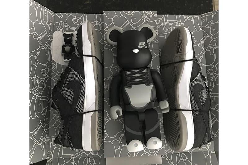 Medicom Toy Nike SB Dunk Elite BE@RBRICK Pack Re-release Fall Winter 2017