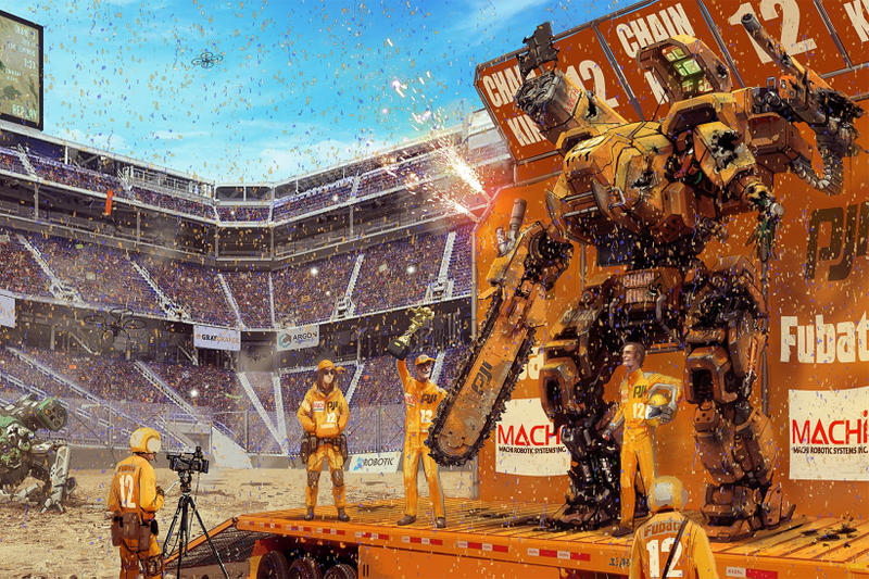 MegaBots Crowdfund Giant Robot Tournament 2018 Kickstarter