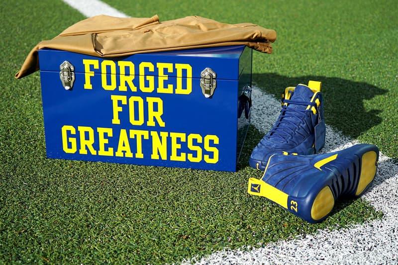 PSNY Public School University Michigan Jordan Brand Air Jordan 12 Maize Blue Football Ohio State 2017 November 25