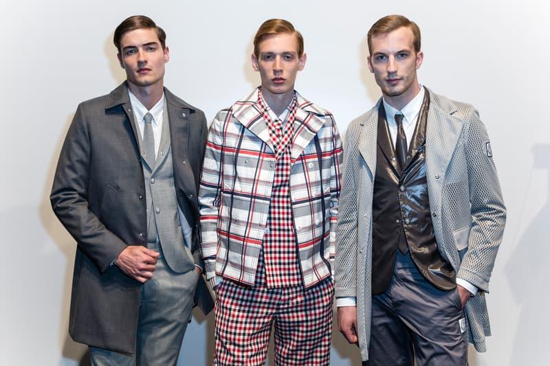 Moncler Gamme Bleu Rouge Thom Browne Giambattista Valli Paris Fashion Week