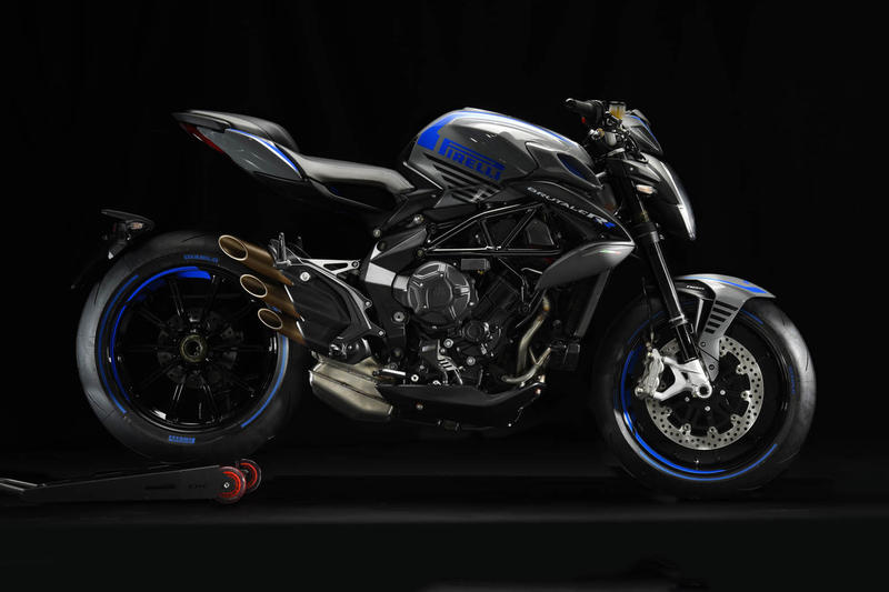 MV Agusta Brutale Pirelli Edition Motorcycle Red Blue 800 RR Bikes