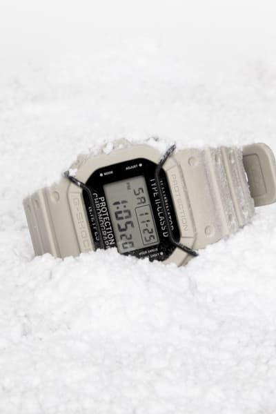 N.HOOLYWOOD G-SHOCK DW-5600NH 2017 Fall/Winter White Watch