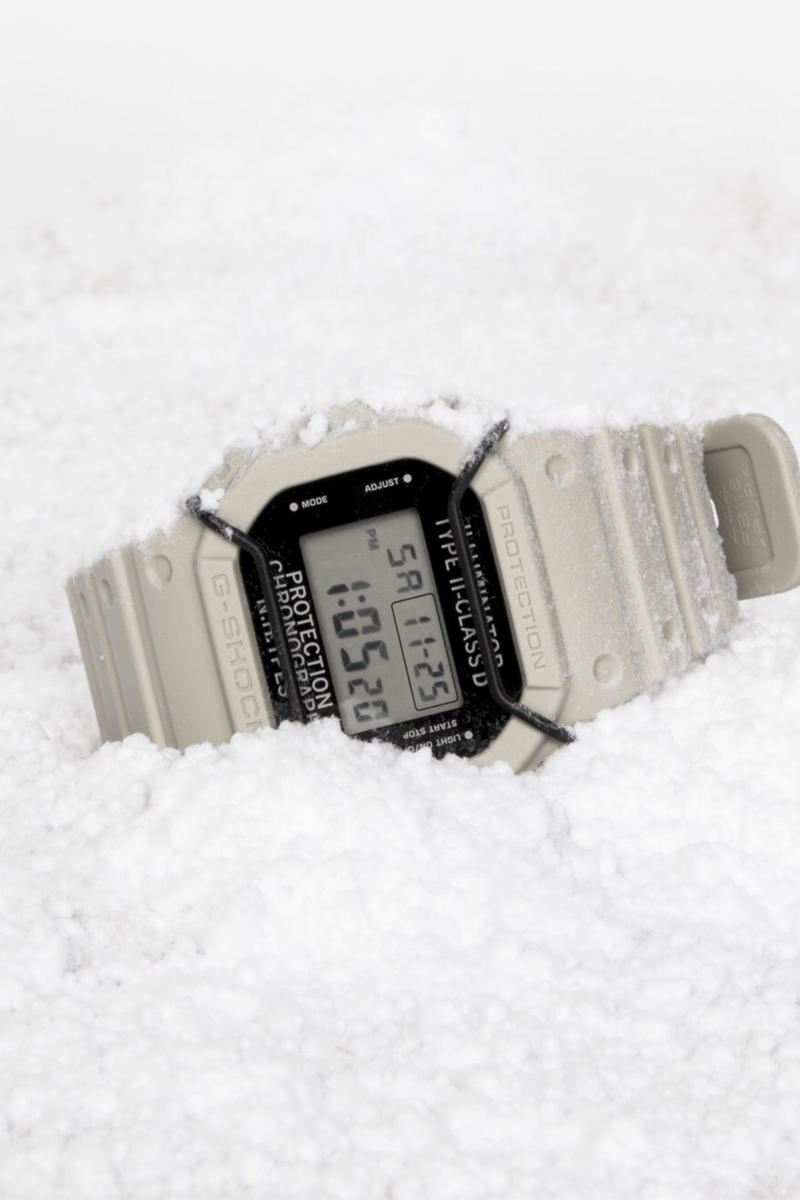 N.HOOLYWOOD G-SHOCK DW-5600NH 2017 Fall/Winter White Watch