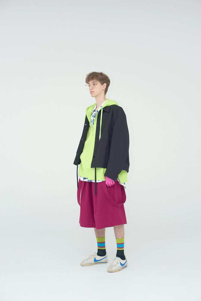 NAME. 2018 Spring Summer Collection Lookbook Japan Noriyuki Shimizu Further
