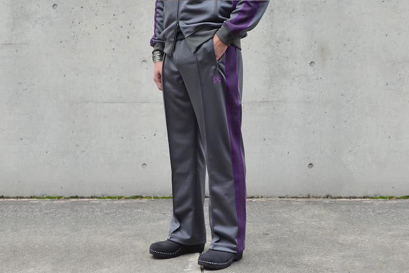 NEPENTHES Tracksuit Purple Blue Purple Black Grey