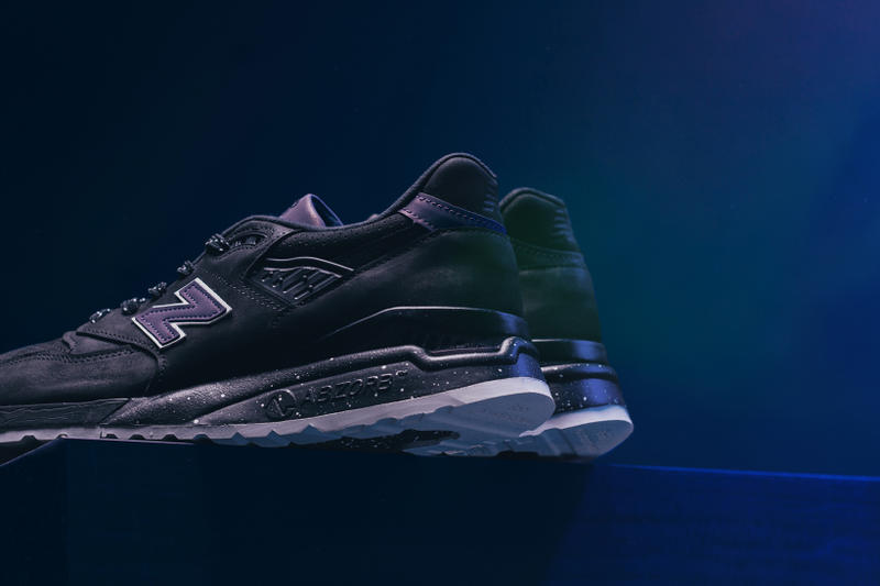 New Balance 998 Made in the USA Northern Lights Black 2017 October 31 Halloween Release Sneakers Shoes Footwear Feature 3M 2017