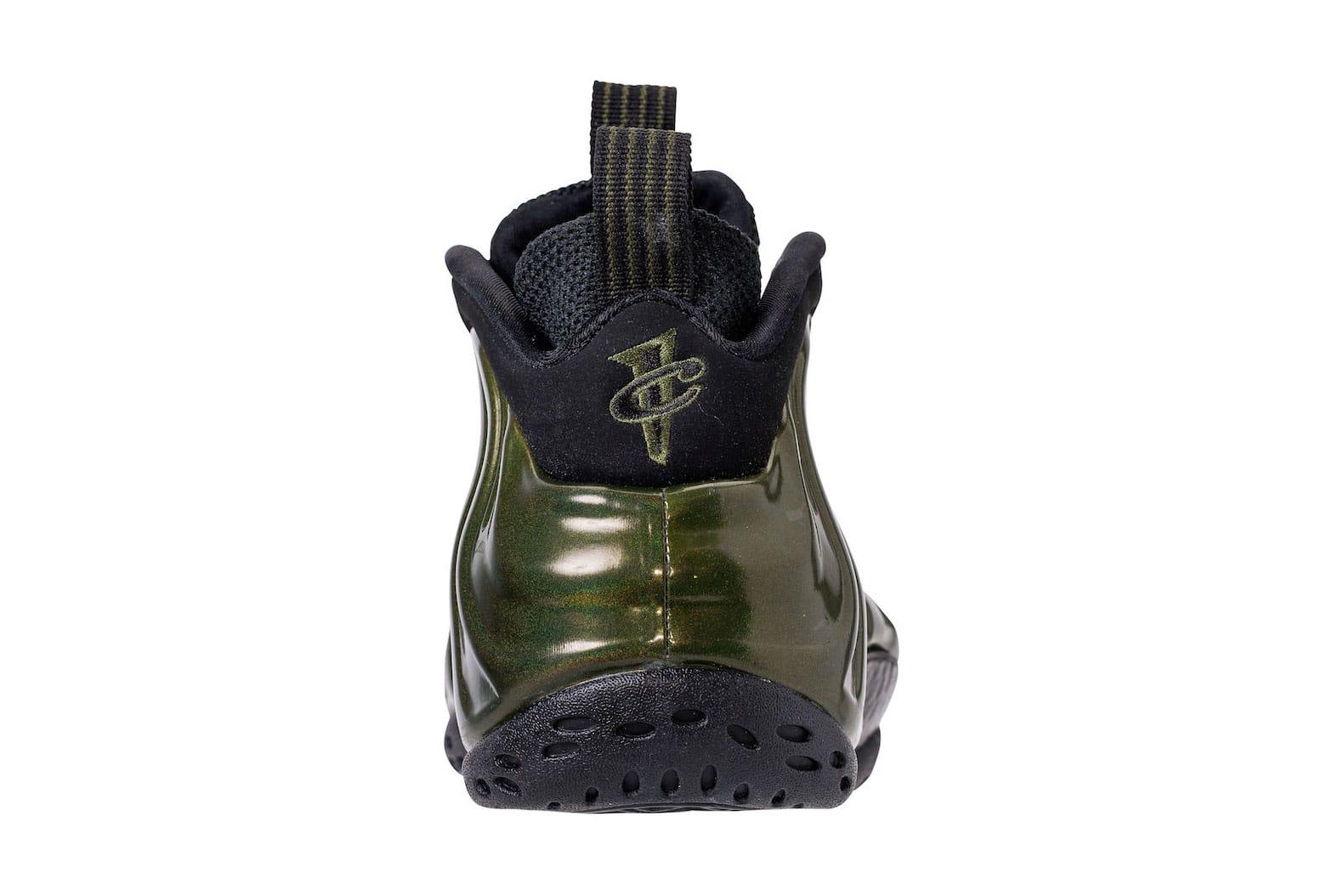 Nike Air Foamposite One Black Suede SampleWearTesters