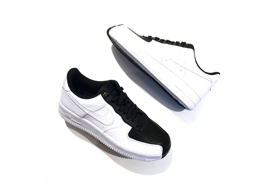 9611a68d5addf7 Nike s Air Force 1 Low Goes Black   White With
