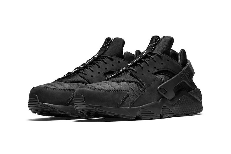 timeless design 36e8e aa382 Nike Air Huarache Run City Series NYC in Black White Triple Black