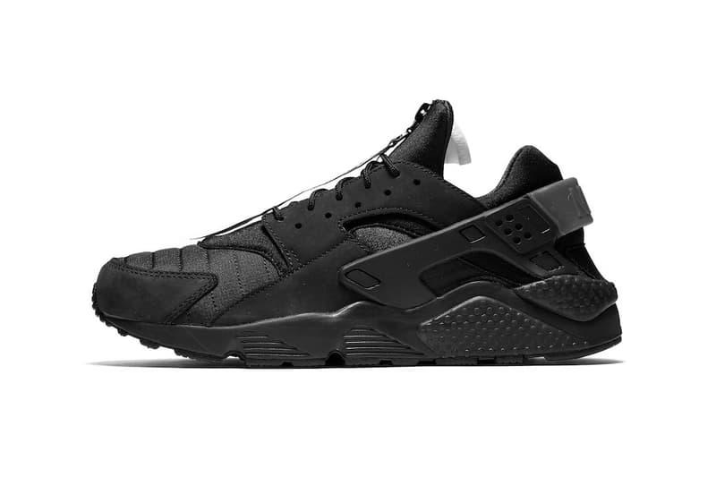 Nike Air Huarache Run City Series NYC in Black White Triple Black 6232165d7