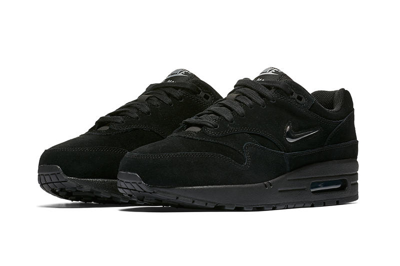 Nike Air Max 1 SC Jewel Triple Black Sneakers Runners