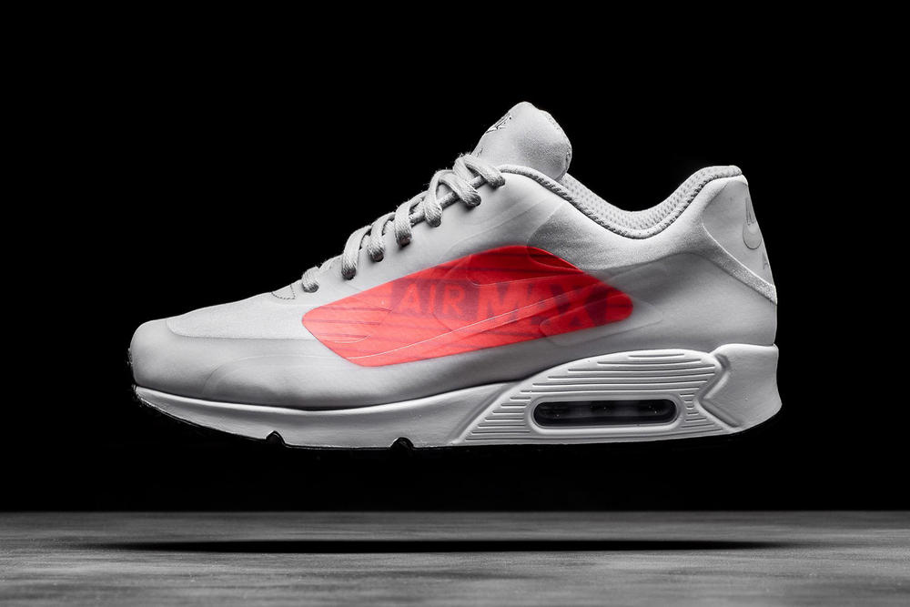 Nike Air Max 90 95 NS GPX Big Logo Oversized Bright Crimson Infrared Volt Neon 2017 November 11 Release Date Info Sneakers Shoes Footwear Politics