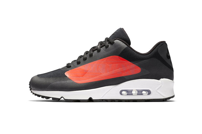 official photos 4487f 29f20 Nike Air Max 90 Big Logo Black Bright Crimson 2017 November December  Release Date Info Sneakers