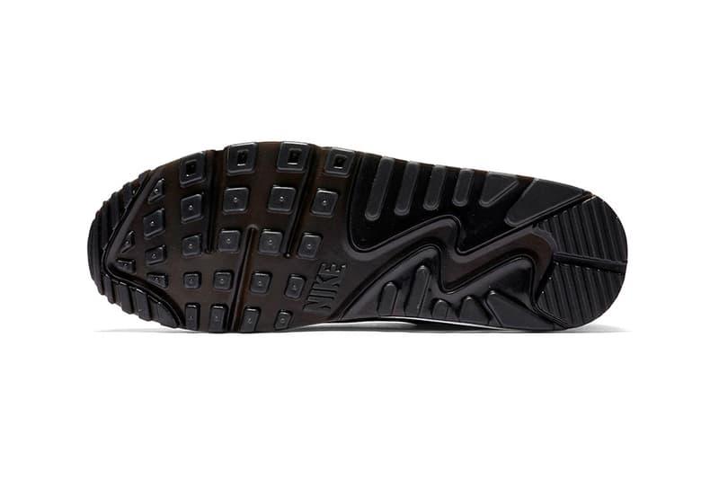 Nike Air Max 90 Big Logo Black Laser Blue Release