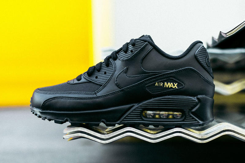 13f34198bc Nike Air Max 90 Black & Gold Black Friday 2017 | HYPEBEAST
