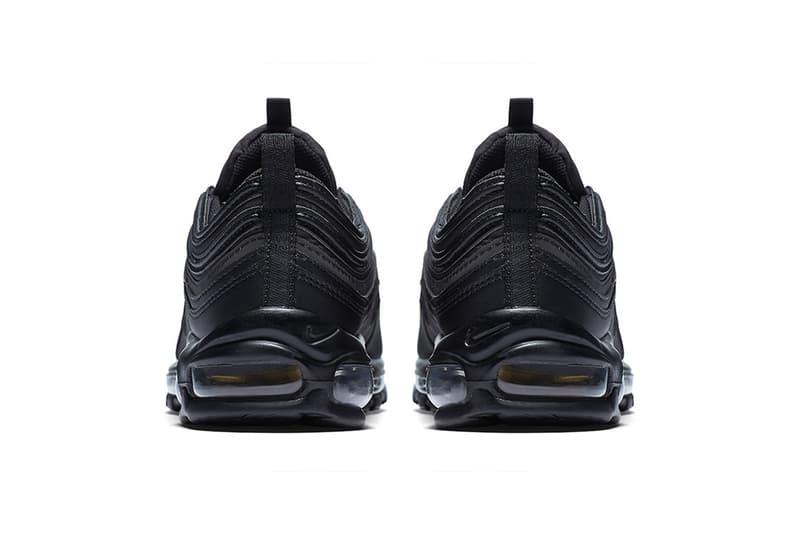 e470bd80c Nike Air Max 97 Black Gold Reflective Black Friday 2017