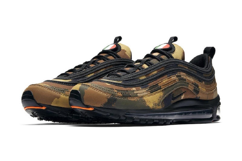 buy online e7c70 c97af Nike Air Max 97 Country Camo Release Date UK Italy Germany France