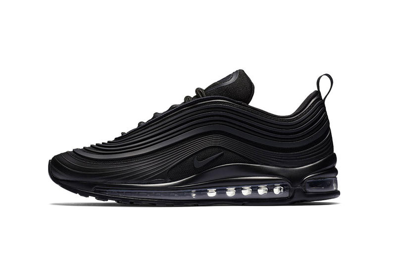 cheap for discount 31520 e432e Nike Air Max 97 Ultra All Black Sneakers New Design