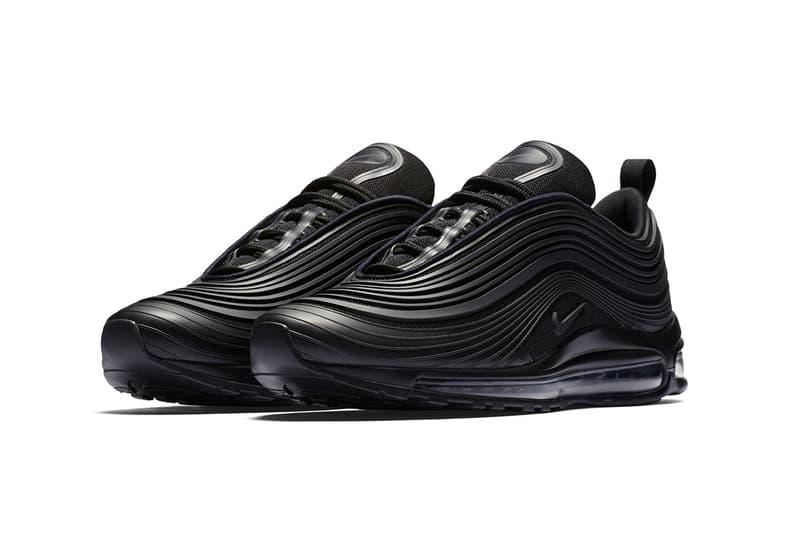 Nike Air Max 97 Ultra All Black Sneakers New Design