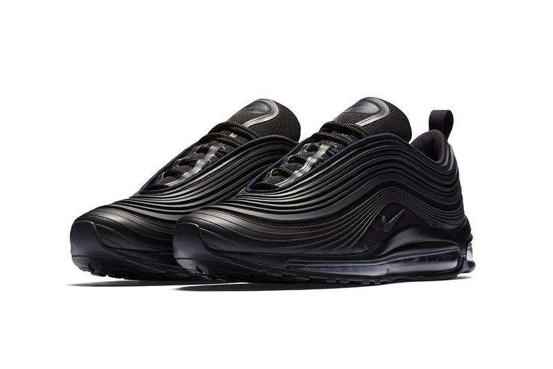 Nike Air Max 97 Ultra All Black Sneakers New Design