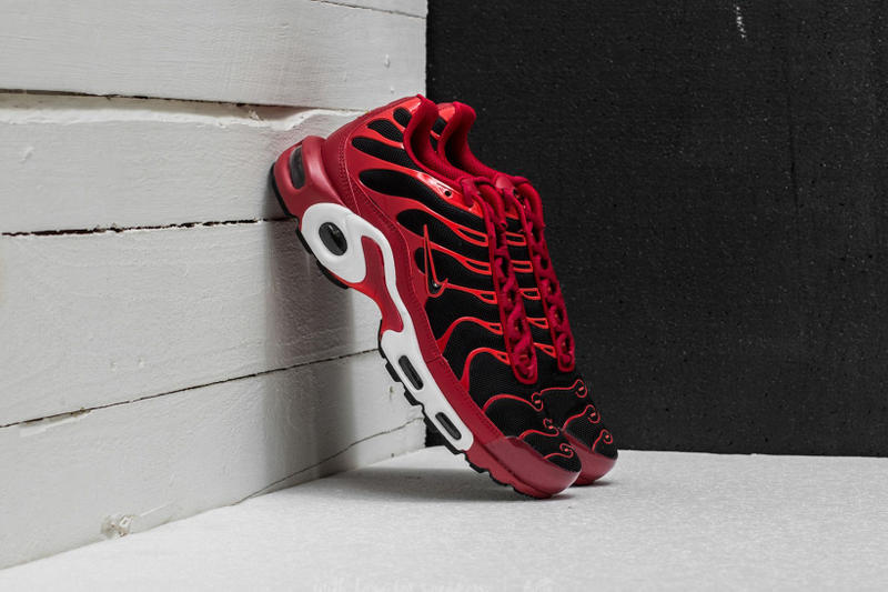 Nike Air Max Plus Chile Red White Black Footwear Release Info Date Drops