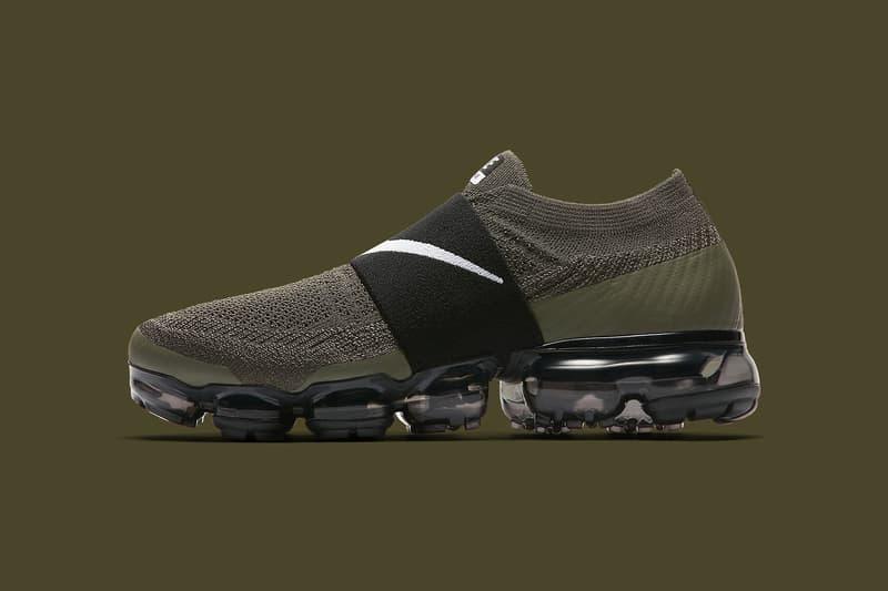 Nike Air VaporMax Moc Olive 2017 November 16 Release Date Info Sneakers Shoes Footwear