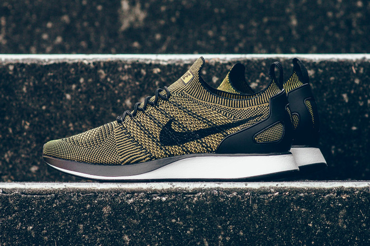 best loved b2a02 c9d1c Nike Wraps the Air Zoom Mariah Flyknit Racer in Olive