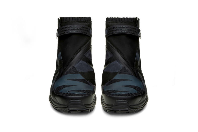 check out 04394 f3191 Nike Gyakusou Gaiter Boot Footwear Release Info Date Drops Black Red