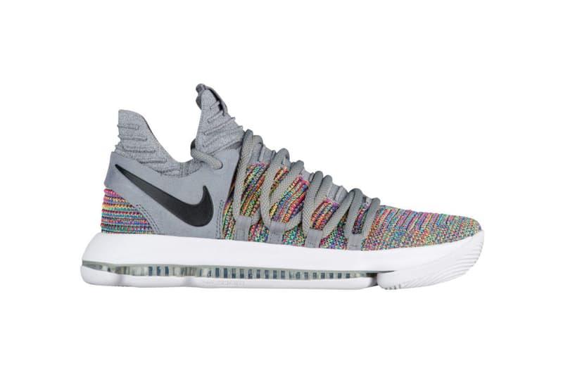 Nike KD 10 Multicolor 2017 December 6 Release Date Info Kevin Durant Sneakers Shoes Footwear