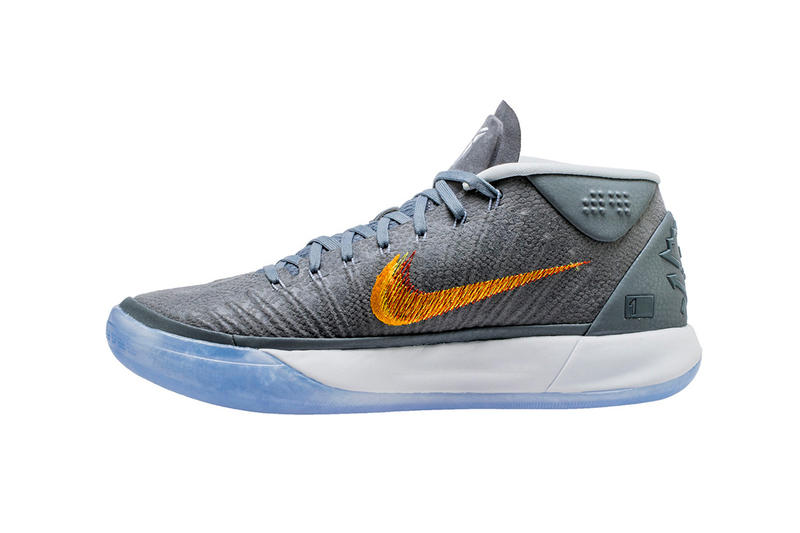 09691f96bfb4 Nike Kobe A.D. Mid Grey Snakeskin November 17 2017 Release Date