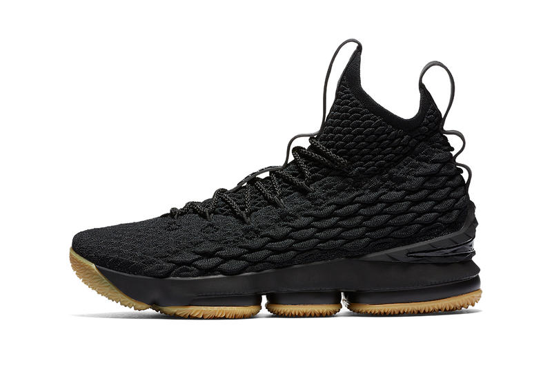 Nike Lebron 15 Black Gum Release Date LeBron James Nike Basketball Footwear November 24 2017 Black Friday