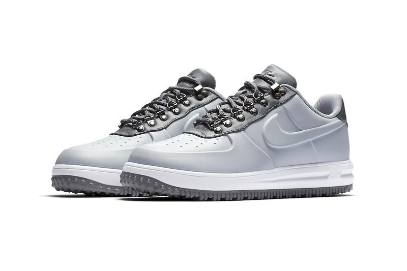Nike Lunar Force 1 Duckboot Low Wolf Grey