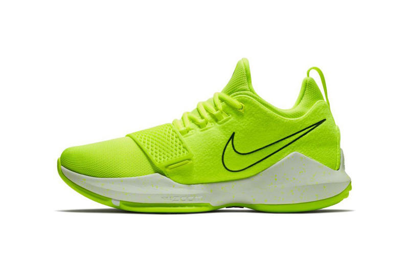 Nike PG1 Volt Paul George 2017 December 15 Release Date Info Sneakers Shoes Footwear