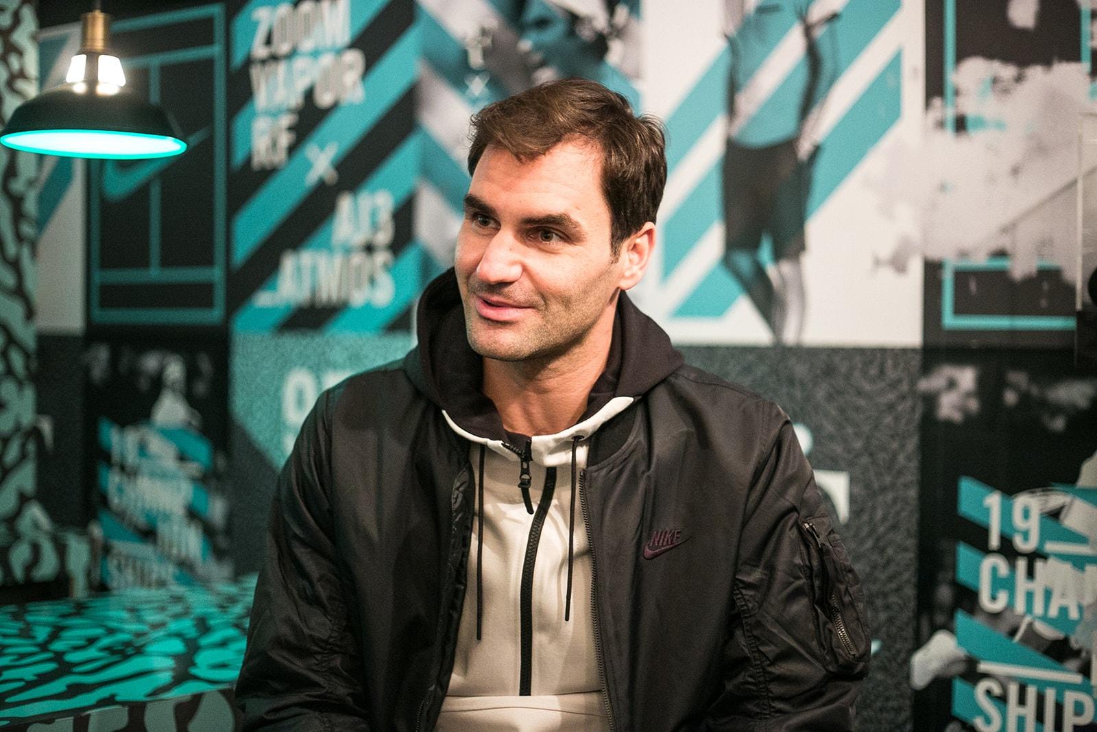 Roger Federer Tennis ATP Finals Nike Rafael Nadal Andre Agassi Pete Sampras Michael Jordan Kobe Bryant Shaquillle O'Neal LeBron James